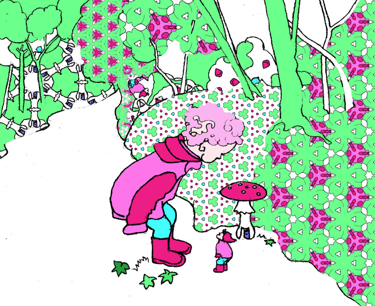 Amélie i skogen